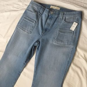 New Gap Perfect Boot High Rise Jeans 33 s / 16 s